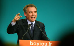 French politician Francois Bayrou Royalty Free Stock Photography