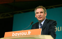 French politician Francois Bayrou Stock Photography