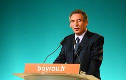 French politician Francois Bayrou Stock Image