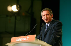 French politician Francois Bayrou Stock Images