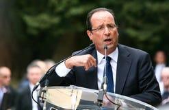 French politician Francois Hollande Stock Photos