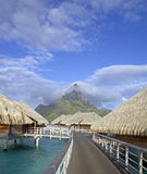 French polynesia paradise Stock Photography