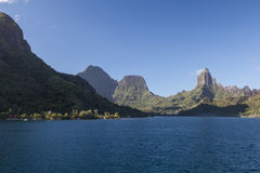French Polynesian Island of Moorea Stock Photos