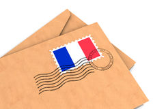French post Stock Image