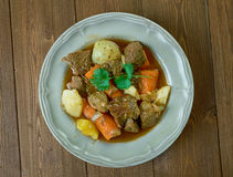 French  pot roast Royalty Free Stock Images