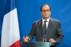 French President Francois Hollande Royalty Free Stock Photos
