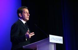 French president Nicolas Sarkozy Stock Image