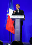 French president Nicolas Sarkozy Royalty Free Stock Photo