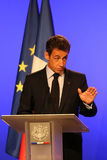 French President's Nicolas Sarkozy Royalty Free Stock Photos