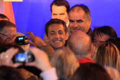French President's Nicolas Sarkozy Stock Images