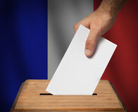 French presidential election. Stock Photos