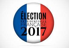 French presidential election 2017 Vector illustration. French presidential election 2017. Vector illustration Isolated on white background Stock Photo