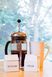 French Press Coffee Royalty Free Stock Photos