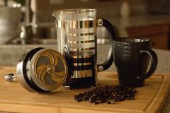 The French Press Royalty Free Stock Photos