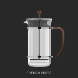 French Press, Coffee Maker Royalty Free Stock Photo