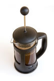 French Press coffee pot Royalty Free Stock Photos