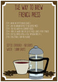French Press Royalty Free Stock Photo