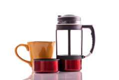 French Pressed Coffee Royalty Free Stock Photos