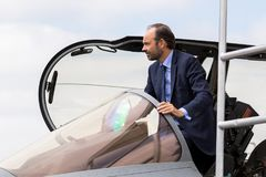 French Prime Minister Edouard Philippe Stock Photo
