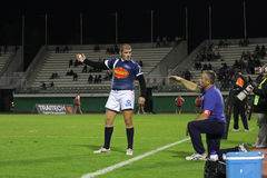 French Pro D2 rugby match - Narbonne vs Agen Stock Images