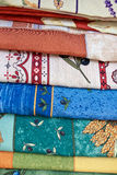 French Provencal Fabrics Royalty Free Stock Photography