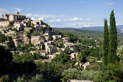 French Provence landscape Royalty Free Stock Photos