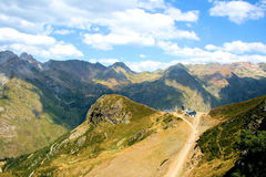 French Pyrenees. A piece of the rough French Pyrenees royalty free stock images