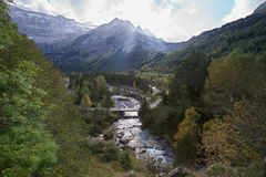 French Pyrenees Royalty Free Stock Photos