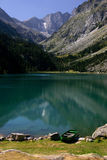 French Pyrenees Lake Stock Photography