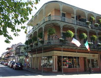 Free French Quarter Balconies Royalty Free Stock Photography - 79110517
