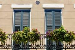 French Quarter Cityscape Stock Image