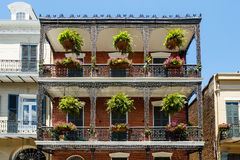 French Quarter Cityscape Royalty Free Stock Photo