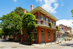 French Quarter Cityscape Royalty Free Stock Image