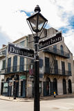 French Quarter Cityscape Royalty Free Stock Photos