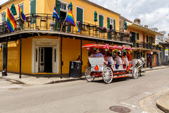 French Quarter Cityscape Stock Photography
