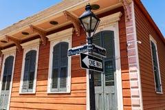 French Quarter Cityscape Stock Photo