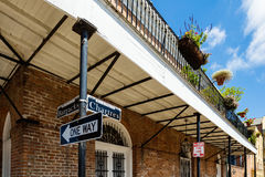 French Quarter Cityscape Royalty Free Stock Photography