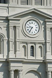 French Quarter Clock Stock Photo