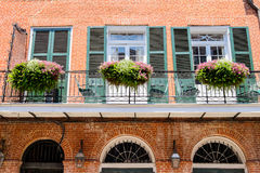 French Quarter Royalty Free Stock Photos