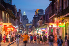 French Quarter, downtown New Orleans Royalty Free Stock Photo