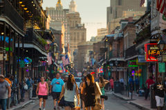 French Quarter, downtown New Orleans Stock Images