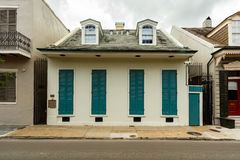 French Quarter Home Royalty Free Stock Images