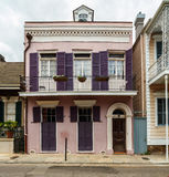 French Quarter Home Stock Photography