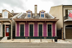 French Quarter Home Stock Images