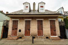 French Quarter Home Royalty Free Stock Photo