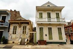 French Quarter Homes Stock Photos