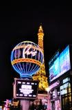 French quarter of Las Vegas stock image