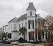 French Quarter Mansion Royalty Free Stock Photos