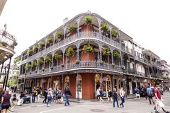 French Quarter in New Orleans, Louisiana Royalty Free Stock Photo