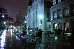 French Quarter Night Stock Image